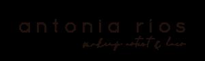 Logotipo Antonia Rios Makeup
